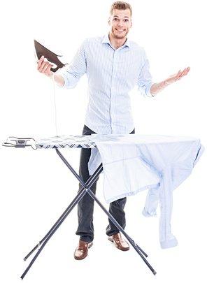 Hemd richtig bügeln